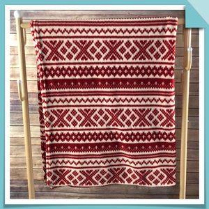 """Lauren Ralph Lauren Fleece Throw Blanket 60""""x70"""""""